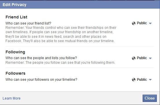 How to deal with Family on Facebook – Ultimate Privacy Settings
