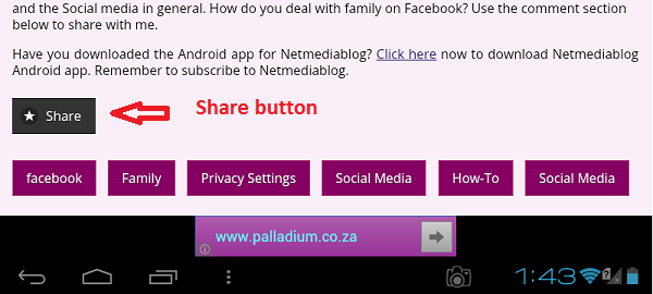 Netmediablog Android App now available on Play Store