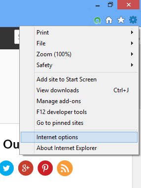 Dealing with Pop-Ups on Web Browsers -  Internet Explorer