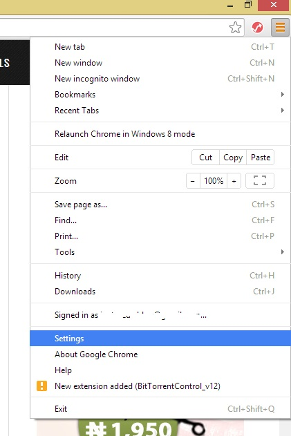 Disable Pop-ups on Google Chrome