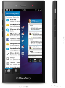 Pre-Order the New Blackberry Z3 in Nigeria