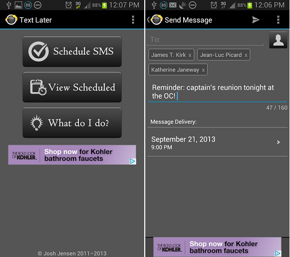 5 Apps to Schedule SMS on Android Smartphones