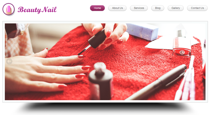 BeautyNail WordPress Theme