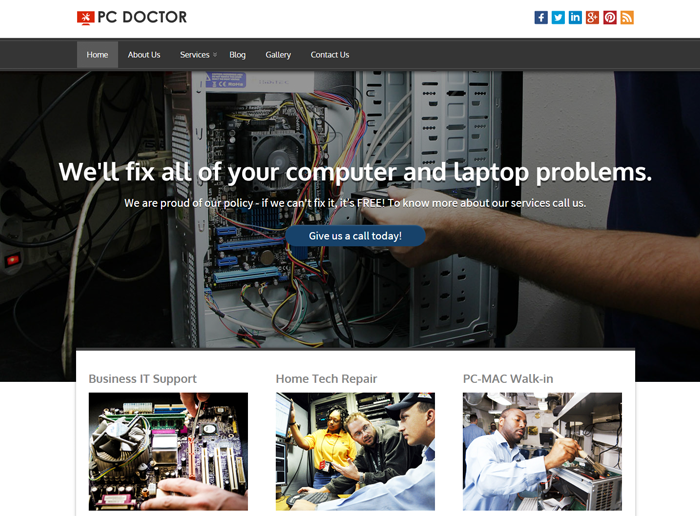 PC Doctor WordPress Theme