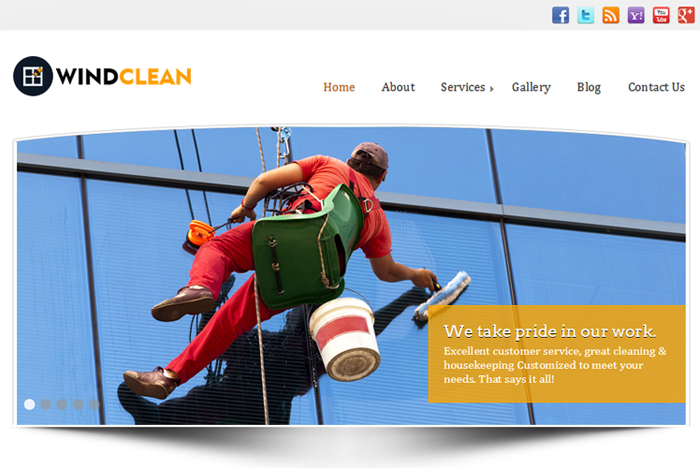 Windown Clean WordPress Theme